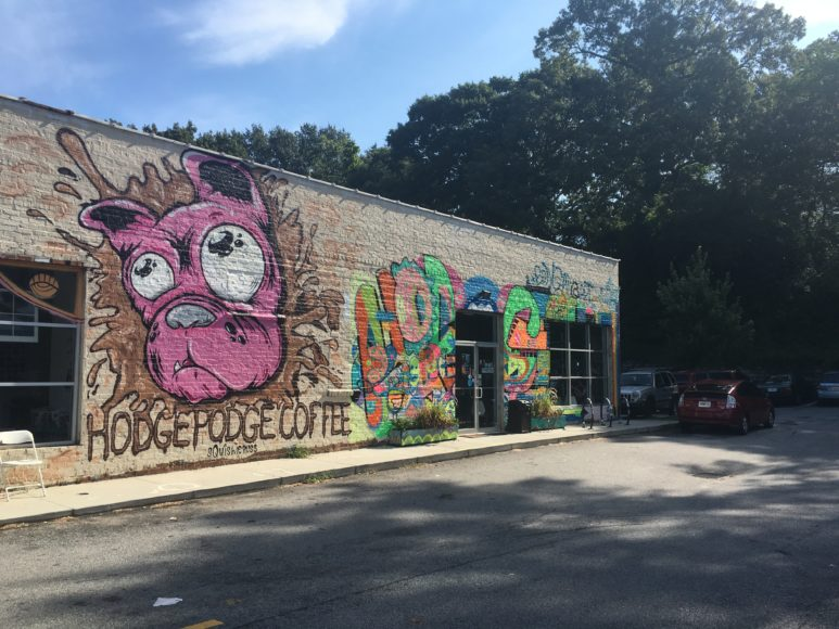 ON LOCATION | Hodgepodge Coffee House's New Murals | CommonCreativ ATL